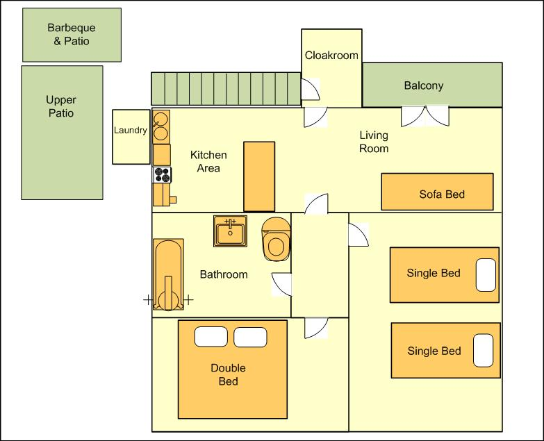 The chalet - Floor Plan